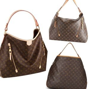 Louis Vuitton Delightful Gm Monogram Shoulder Bag